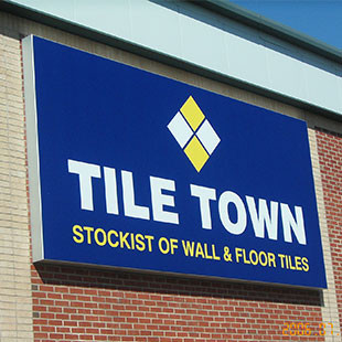 Tile-Town-Signage