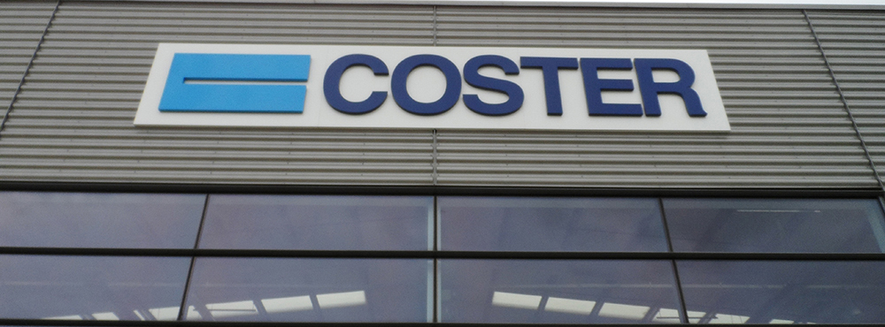 Coster External Aluminium Sign