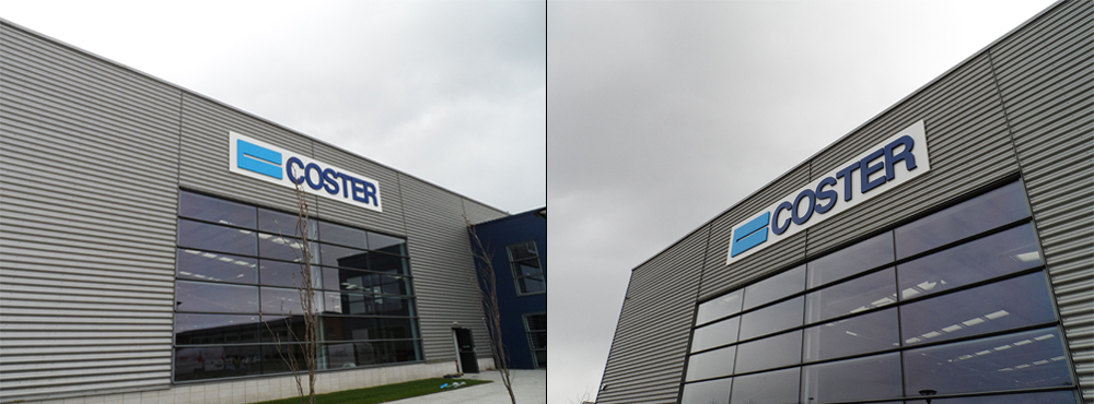 Coster External Sign Split