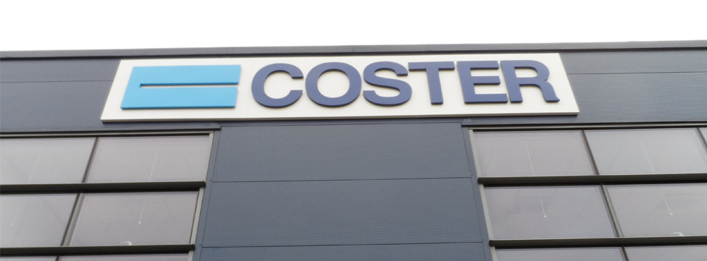 Coster External Signage