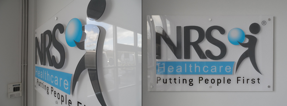 NRS Healthcare Internal Signage Split