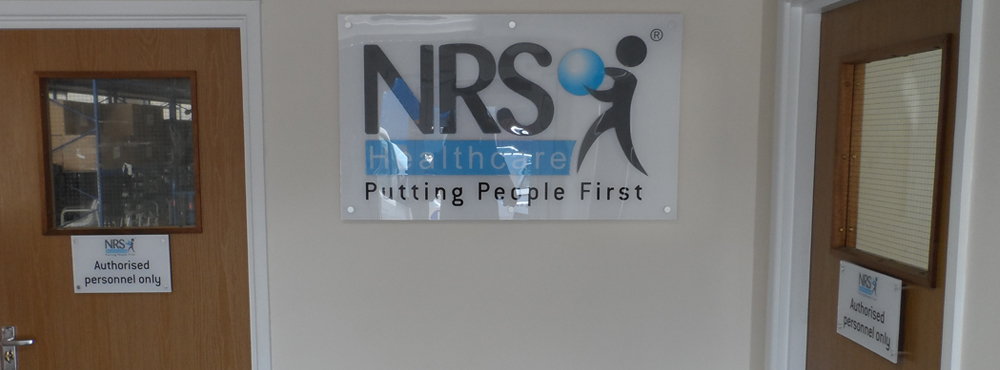 NRS Healthcare Internal Signage
