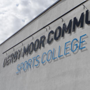 Derby Moor Community College Acrylic Letters