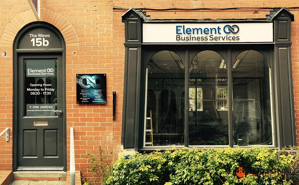 Element Leicester Signs