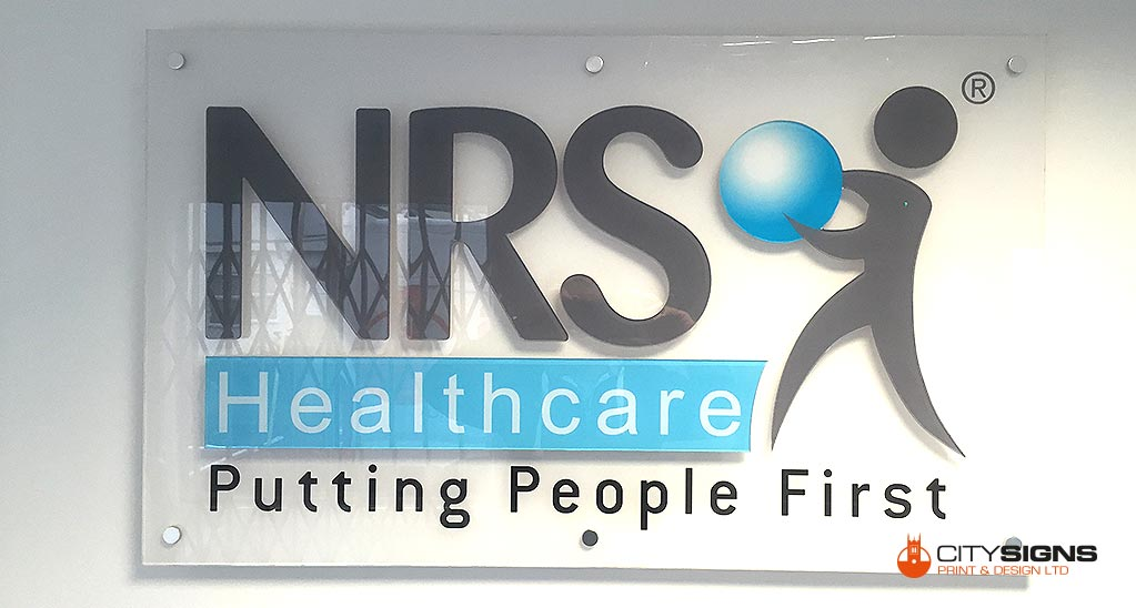 Internal NRS Healthcare Sign