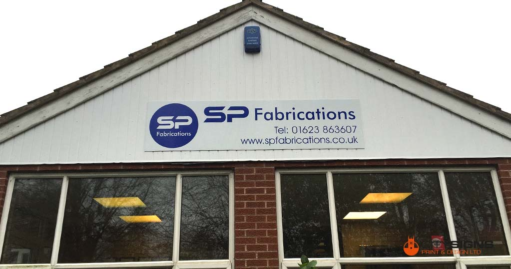 Nottinghamshire Factory Signs