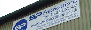 Ollerton Signage for SP Fabrications